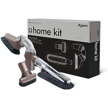 Dyson kit maison 3 accessoires – brosse douce, brosse pour surfaces en hauteur et brosse rigide