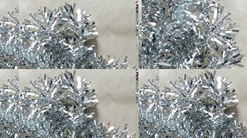 Girlande Ranke silber-farben Länge 480 cm Haus-Raum-Tür-Deko Deco Metallich vom Sachsen Versand