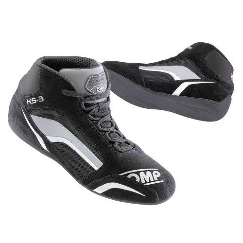 Omp ompic/81307036ks-3Sneaker, Schwarz/Weiß/Grau, Größe 36