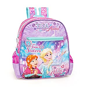 51XSQqp8kgL. SS300  - Disney Frozen 52212 School Backpack, Anna, Elsa