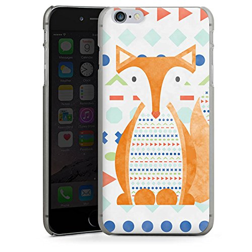 Apple iPhone X Silikon Hülle Case Schutzhülle Fuchs Tier Muster Hard Case anthrazit-klar