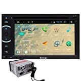 EinCar 6.2 Zoll HD Bluetooth Screen-Auto GPS-Stereoradio Android 6.0 Auto-DVD-Spieler GPS-Navi in ??Dash Navigation-Steuerger?t Video Player MP3 / MP4 / USB / SD / FM / AM / Wifi / Spiegel Link