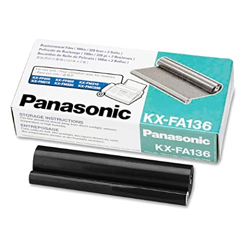 KXFA136 Film Roll Refill, 2/Box, Sold as 1