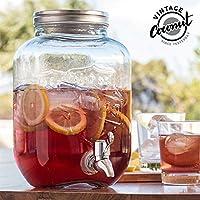 OOTB Drink Dispenser/Vintage Jar, 15 x 15 x 26 cm