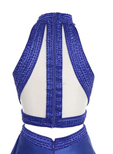 Bbonlinedress Robe longue de cérémonie en satin deux pièces Gris