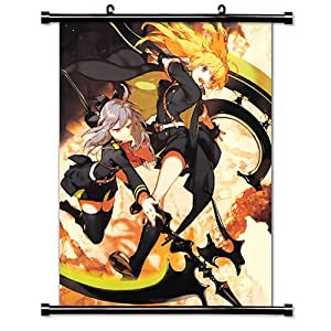 Seraph of the End (Owari no Seraph) Anime Fabric Wall Scroll Poster (16x20) Inches