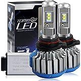 Win Power Kit de conversión todo en uno con bombillas LED CREE para faros delanteros –H1H3H4H7H11H13900590068809012–7200lm, 70W, 6000K, luz blanca fría–Pack de 2