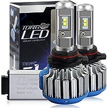 Win Power Kit de conversión todo en uno con bombillas LED CREE para faros delanteros –9012 – 7200 lm, 70 W, 6000 K, luz blanca fría – Pack de 2