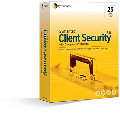 Client Security 3.0 with Groupware Protection Business Pack 25-User Win