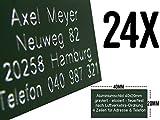 Modellflugschild 24 Stück OLIVGRÜN aus Aluminium für UAV Copter Drohne Kennzeichen Schild Aufkleber Etikett Plakette