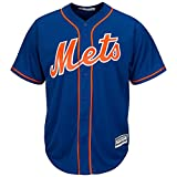 Majestic New York Mets Cool Base MLB Trikot Alternate Home Blau L