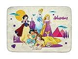 Achoka 12 Tapis Disney Princess Ultradoux, Polyester, Multicolore, 70 x 95 x 0,76 cm