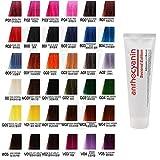 Anthocyanin Haar Maniküre Farbe 230g (A01 Deep Gray) Semi Permanent Haarfarbe Verlockende -UV Schutz Pflanzen Protein
