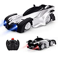 Baztoy Remote Control Kids Wall Climbing Dual Modes 360°Rotation Stunt RC Cars Vehicles Toys Children Games Funny Gifts Cool Gadgets for Boys Girls Teenagers Adults, Black