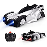 Baztoy Ferngesteuert Auto Fahrzeug Spielzeug für Kinder Jungen Mädchen Dual-Mode-360 ° RC Car mit Fernbedienung und Stunt Kletterwand Funktion Kids Toys for Boys Girls - Baztoy