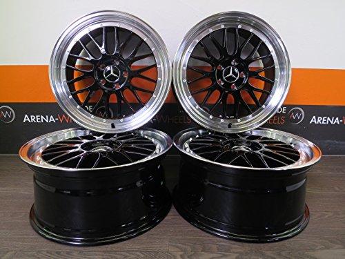 4 Alufelgen Ultra Wheels UA3-LM 19 Zoll passend für A 176 B 246 C 204 205 CLA CL E 207 GLA S 220 Vito NEU