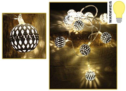 10 Orient Spirit Lichterkette Lampenkette Licht Lampe Kette Warmweiss 000155