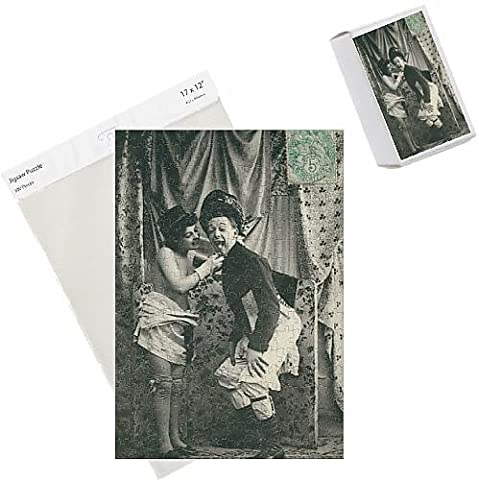 Photo Jigsaw Puzzle of French couple seduction sequence