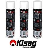 """3Botes Kisag Kigas """"Gastro"""" recargado 600ml"""