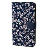 Zenus AA400285 Avoc Liberty Diary Etui pour Samsung Galaxy Note 4 GT-N7000 Imprimé Feuilles