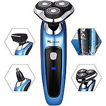 GHB máquina de afeitar afeitadoras eléctricas Multifunción y Tres cabezas Giratoria