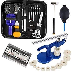Uhrenwerkzeug Set Uhr Reparatur – Uhrmacherwerkzeug Uhr Werkzeug Link Splint Sortiment Uhr Presse