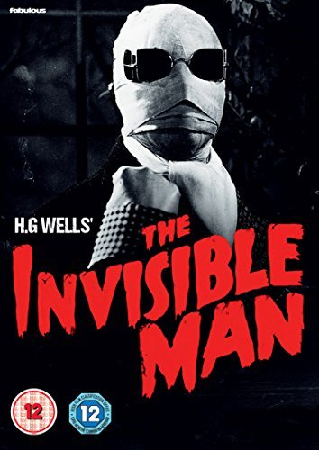 The Invisible Man [DVD] by Claude Rains (Rain Man-dvd)