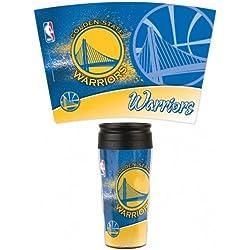 Wincraft NBA contorno taza de viaje, dorado
