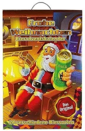 Eschig Adventskalender Bier-Adventskalender Rupprecht mit 24 Dosen Bier a 500ml (12 Liter Bier)