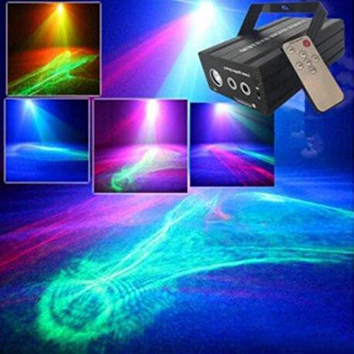 OOFAY LIGHT® Dream Lights Wedding Performance Equipment Projektion Bar KTV Scan LED Stroboskop Licht (Led-scan-licht)