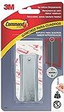 Command 17047 Gancio appendiquadri Metallico dentato-Misura S, Argento, M