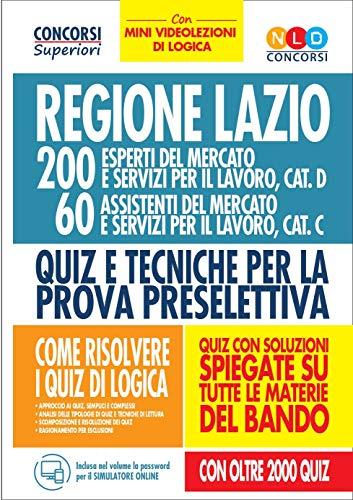 Regione Lazio. 200 esperti del mercato e