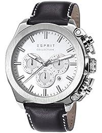 Esprit Herren-Armbanduhr XL Tityos Chronograph Quarz Leder EL102181001