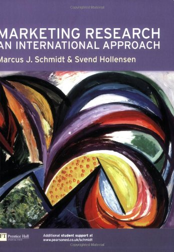 Marketing Research:An International Approach