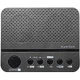 Tutoy Multi-Función Mini Portátil Despertador Radio Bluetooth 4,0 Tf Tarjeta De Altavoz