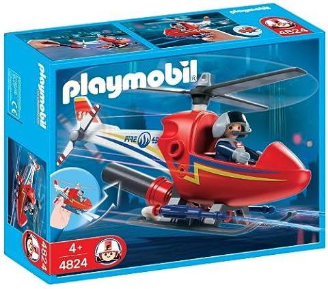 Playmobil - 4824 - Jeu de construction - Hélicoptère de