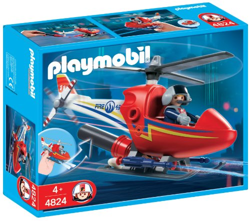 Playmobil Firefighters - Fire Helicopter (626122)