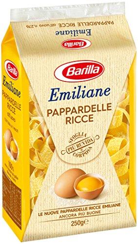 Barilla Emiliane - Pappardelle Ricce All'Uovo - 20 confezioni da 250 g [5kg]
