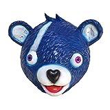 Miminuo Neuheit-Spielzeug-Halloween-Kostüm-Partei-Spiel-Latex-Tier-Volle Hauptmaske-Umarmungs-Team-Führer Bärn-Spiel-Maske (Blue)