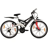 KS Cycling Kinder Fahrrad Mountainbike Atb 4 Masters RH 42 cm, Schwarz, 24, 837B