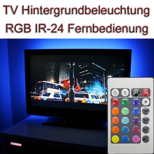 'Set ~ 22-24TV IR 24RGB LED luz de fondo Background Light