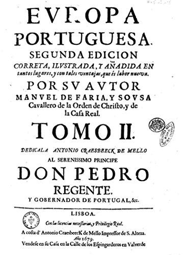 Europa Portuguesa - Tomo II por Manuel Sousa