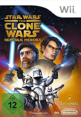 Star Wars - The Clone Wars: Republic Heroes [Software Pyramide] - [Nintendo Wii]