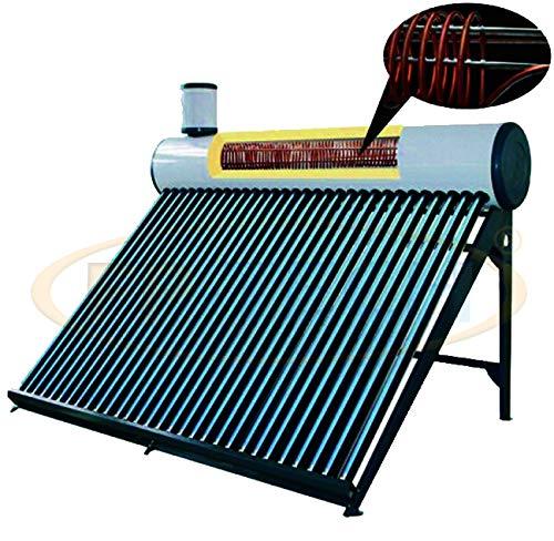 FP-TECH - Panel Solar térmico de Agua Caliente, 240 L, con jeringuilla para Piscina