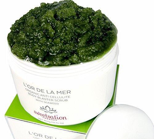 New! L'or de la Mer Organic Anti Cellulite Body Blaster Scrub with Seaweed, 360 gr – the best anti cellulite treatment scrub