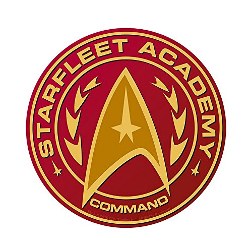 Kostüm Klingonen Star Trek - Star Trek - Mausmatte Mauspad - Starfleet Academy Command - 21,5 cm