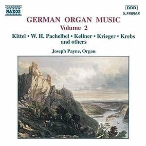 Vol. 2-German Organ Music