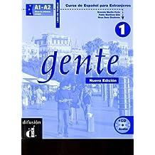 Gente 1 L. de trabajo + CD (Ele - Texto Español)