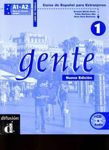 Gente 1 : Libro de trabajo (1CD audio)