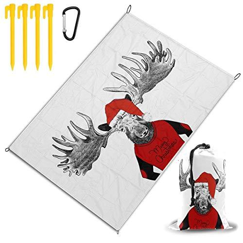 Handgezeichnete lustige Weihnachten Elch Illustration Hug Handtücher zum Trocknen von Haaren Mikrofaser Haartuch wickeln Handtuch trockenes Haar Creme Kinder Handtuch Haar wickeln 78